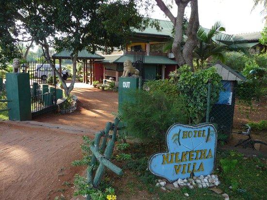 Nilketha Villa Eco Hotel: Vu de l'extérieur