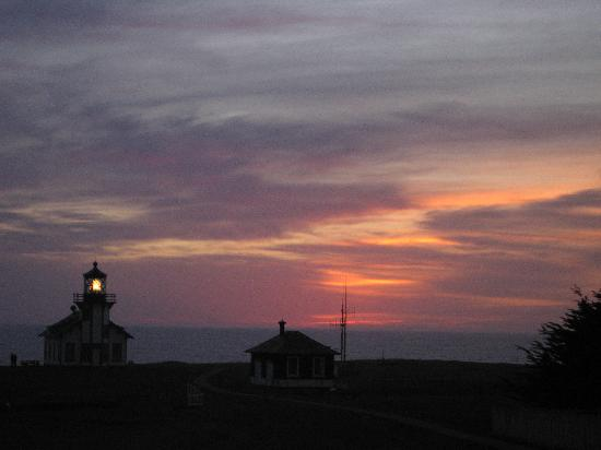 Point Cabrillo Light Station: Sunset