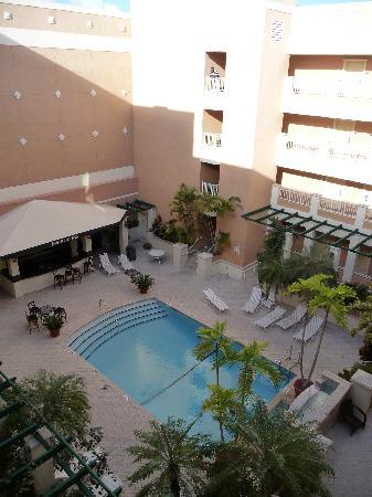 Rodeway Inn South Miami - Coral Gables: piscine