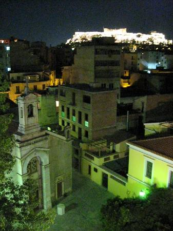 Arion Athens Hotel: View of Acropolis from Room