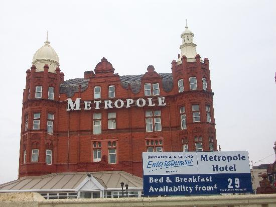 Grand Metropole Hotel: View of hotel