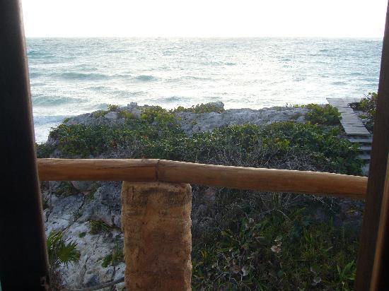 La Posada del Sol: vue du balcon