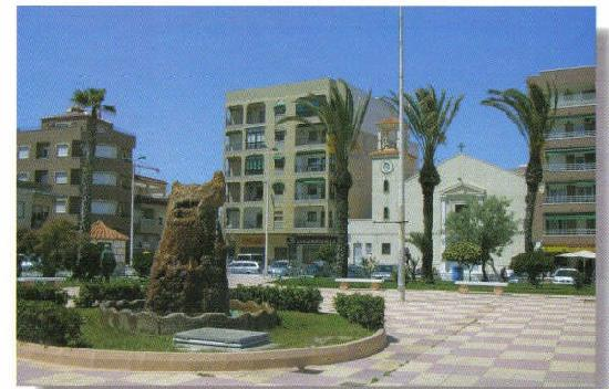 Vinamar Apartments 1-6: Town square of La Mata