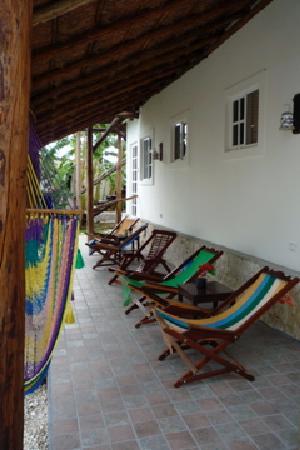 Villa Escondida Bed and Breakfast: The Palapa