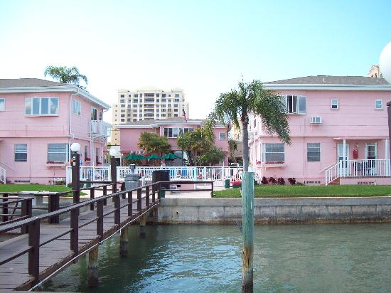 Coral Resort Condominiums: Resort from dock
