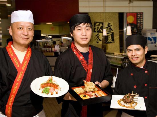 Sushihana Anese Restaurant Chefs