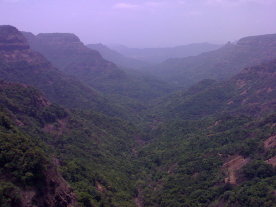 Maharastra, India: Mountain view from Kalvleseth point---- Subhash