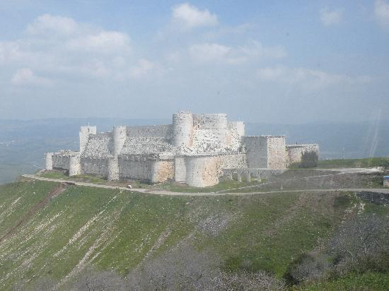 Homs, Syria: Krak des chevaliers
