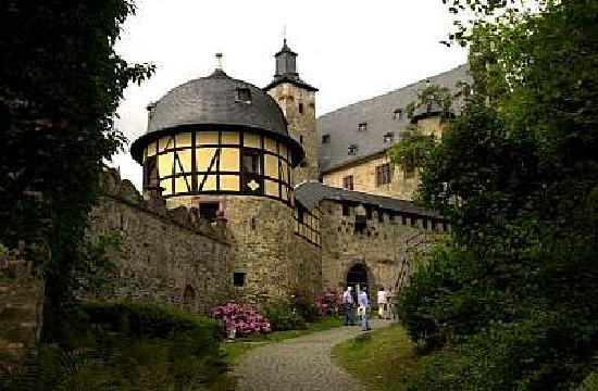 Kronberg im Taunus, Germany: Burgvorhof