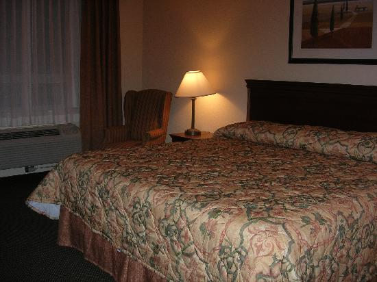 Country Inn & Suites By Carlson, London South, ON: Room with King Size Bed