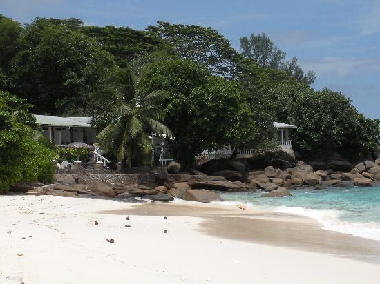 Anse Soleil Beachcomber : l'hotel vu de la plage