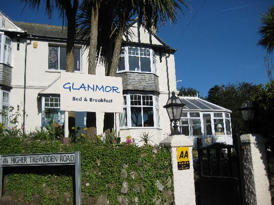 Front of Glanmor Guest House