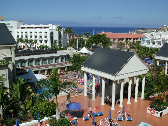 Bahia Princess Hotel: South facing balcony