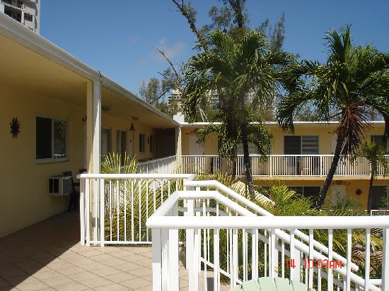 Cocobelle Resort: Upstairs view