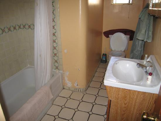 Chapelle Street Casitas: Bath (not a flattering photo - bath is totally fine!)