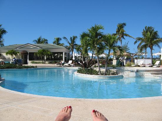 The Sands at Grace Bay: The pool view from my chair