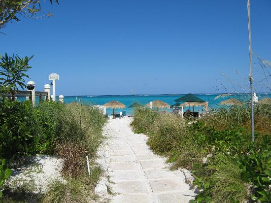 The Sands at Grace Bay: walkway to the beach