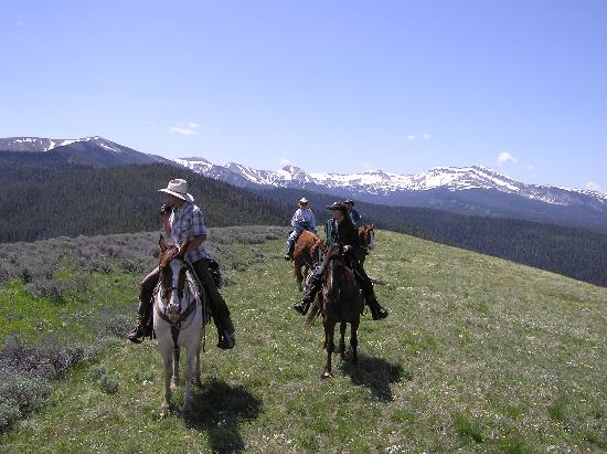 Views From Trail Picture Of Covered Wagon Ranch