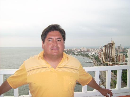 Decameron Cartagena: desde el balcon