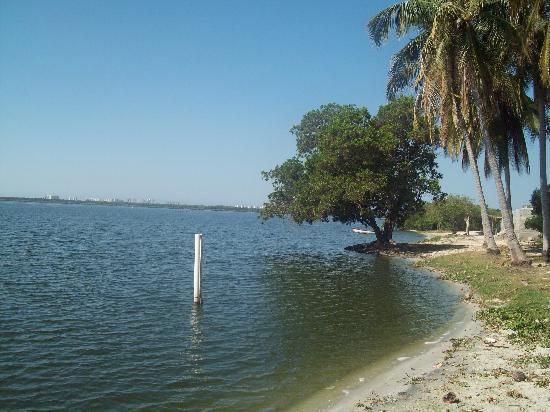 Laguna de Tres Palos: orillas de la laguna para ir a comer