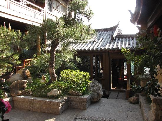 Zen Garden Hotel (Lion Mountain Yard): Inner courtyard