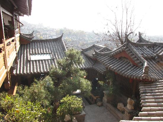 Zen Garden Hotel (Lion Mountain Yard): view from second floor