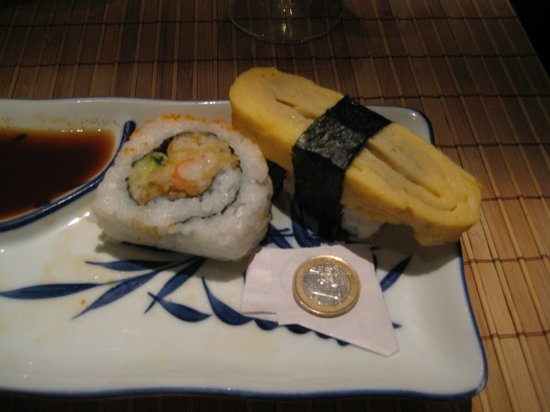 Kyoto: Look at the huge size of these maki and sushi