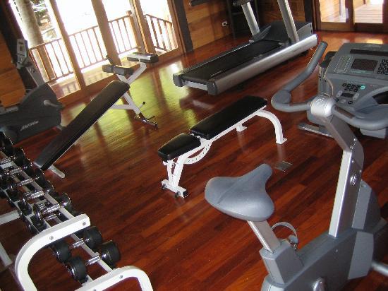 Anantara Rasananda Koh Phangan Villas: gym