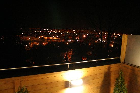 Rocpool Reserve hotel & Chez Roux: View at night