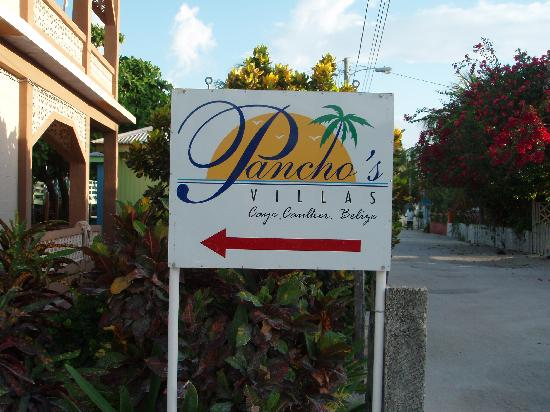 Pancho's Villa: Sign on Front Street