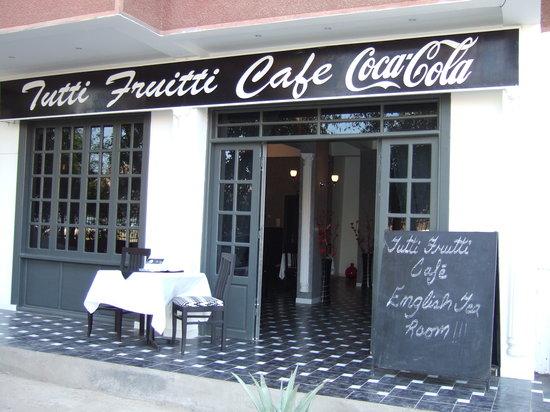Tutti Frutti  Restaurant : english tea room