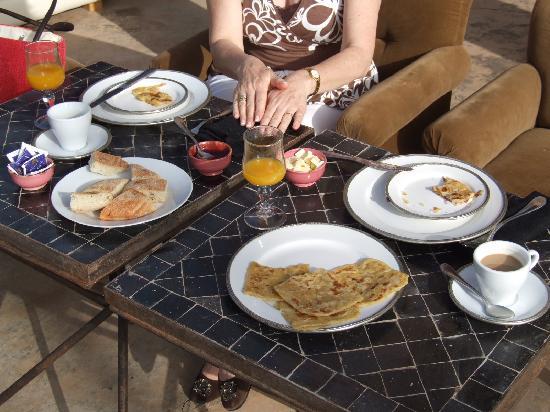 Riad Tammou : notre petit-déjeuner