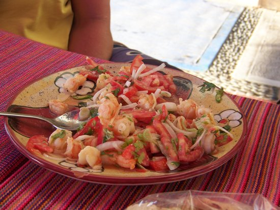 Marlena's Beach Bar & Restaurant : Shrimp Botanos