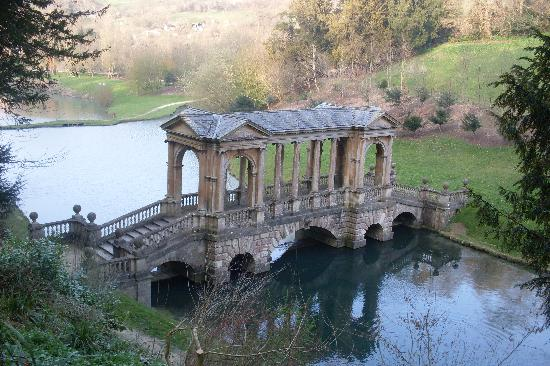 Exceptional Prior Park Landscape Gardens (NT): The Palladian Bridge On The Path Down Awesome Ideas