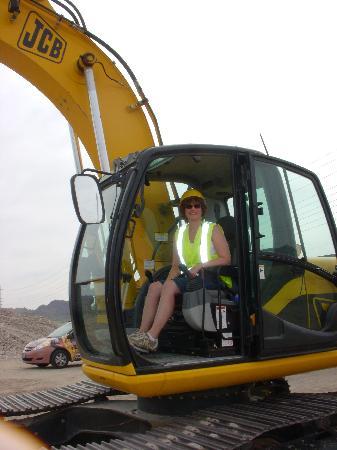 Big Dig Adventure: Me in the Excavator