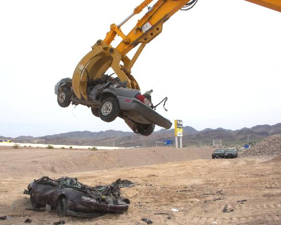 Big Dig Adventure: stacking & crushing cars
