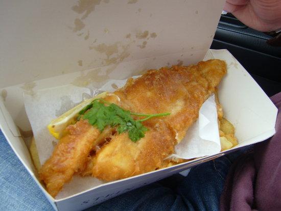 Stein's Fish & Chips: Cod & Chips!