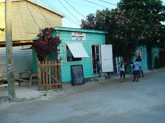 Caye Caulker, Belize: A restaurant from our home town!