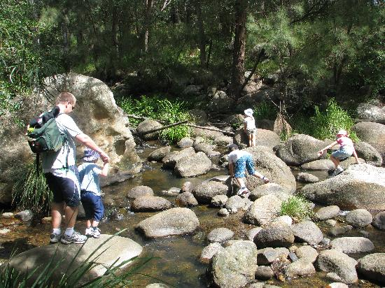 Mt Barney Lodge Country Retreat: Rock Hopping