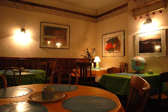 Hotel La More / The Bisbee Inn: Dining area