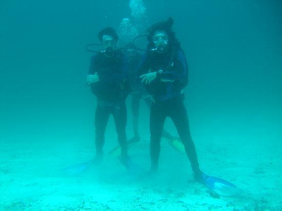 Kri Eco Resort: diving