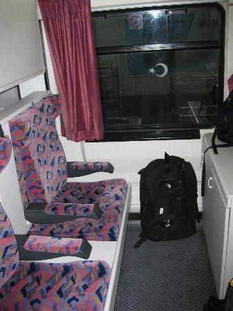 OSE: 寝台車の個室