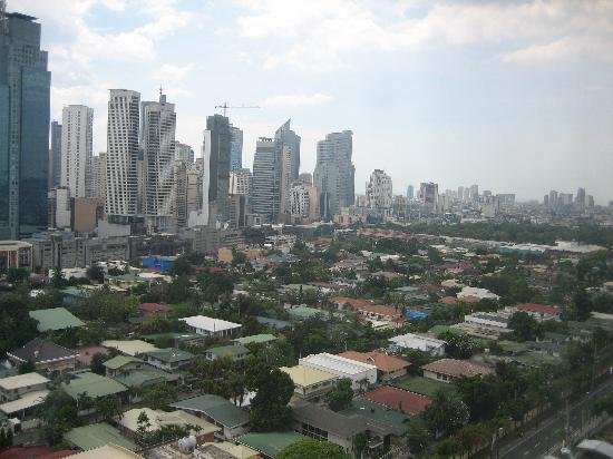 Berjaya Makati Hotel - Philippines: panorama dalla camera