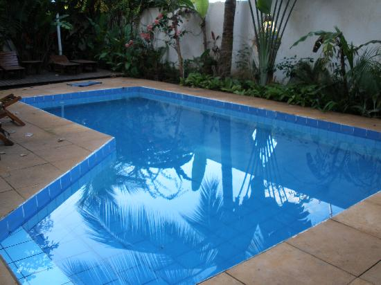 Pousada Coqueiro Verde Itacare: Pool from the 1970's