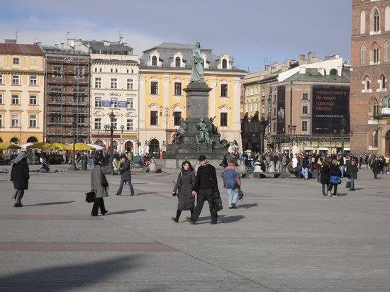 Cracóvia, Polônia: Market Square, Krakow
