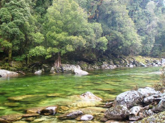 Owen River Lodge: Crystal Clear