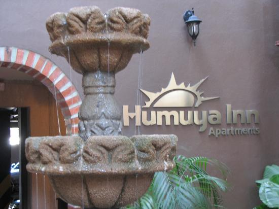 Humuya Inn: Fountain in the patio