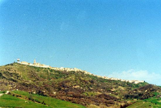 Panorama di Morrone del Sannio (CB )