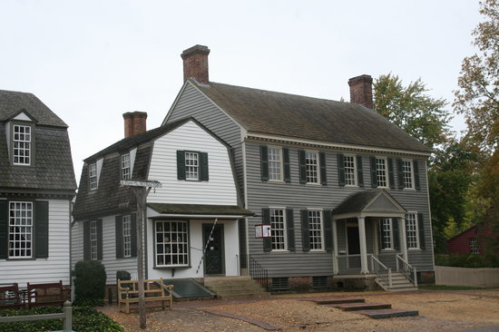 Williamsburg, VA: Wig Shop and House on Duke of Gloucester