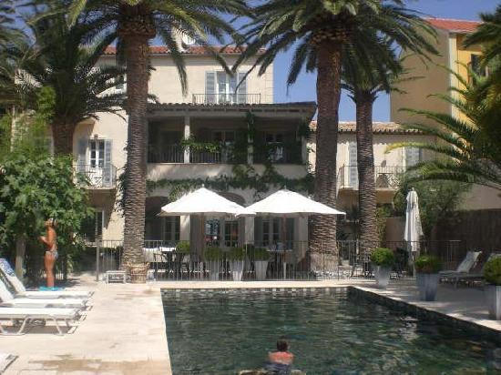 Pastis Hotel St Tropez: Salt water pool at the Pastis Hotel